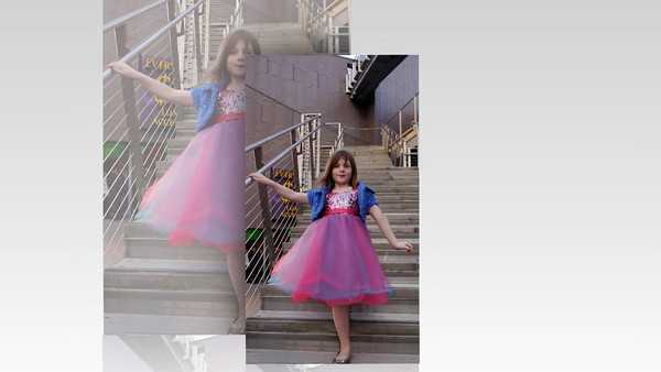 Miss Selah, mini-model and actress-to-be, is adorable in this talent clip that mom will send out to agents.... Aside from being a priceless glimpse of Selah's charm at this age!