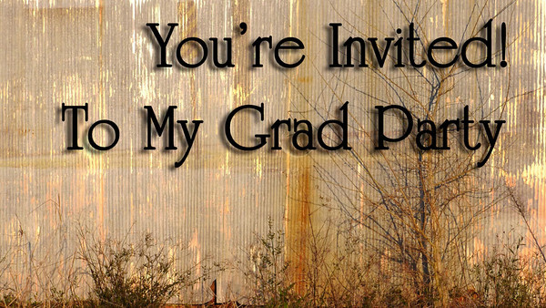 Graduation Announcements! This fun invitation is a great way to share still photos and some fun motion as well. It is great with or without text!