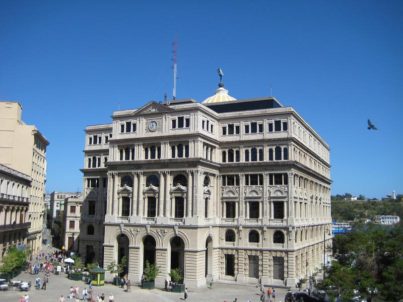 Lonja del Comercio, on the north side of the Plaza del San Francisco.