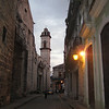Looking east towards the Catedral de la Habana.