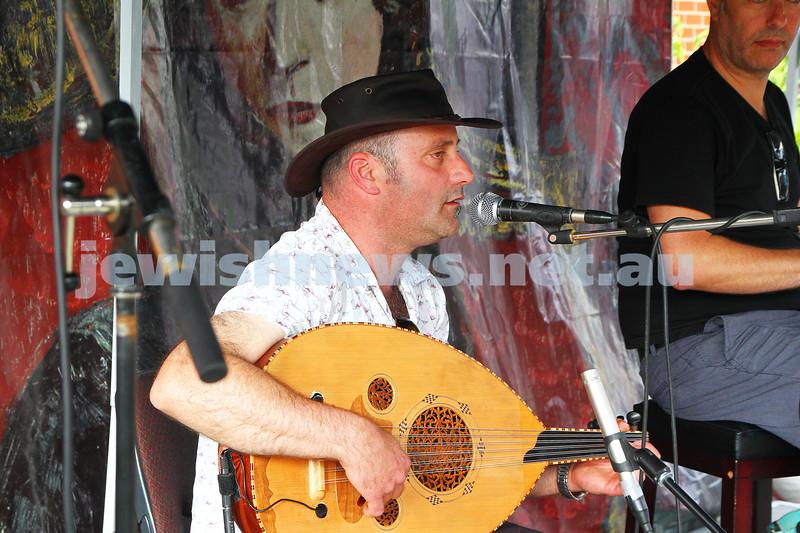 13-12-15. Habayit's Israeli fusion festival and Chanukah celebrations at Beth Weizmann. Photo: Peter Haskin