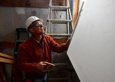 Habitat For Humanity Working on Project In Boulder