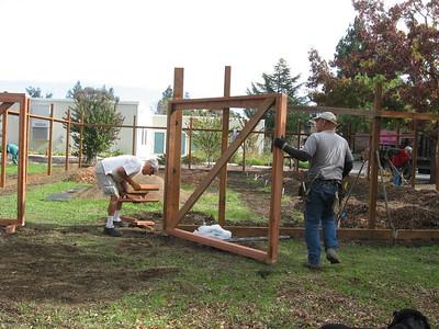 091027 Nursery Gate and Grading