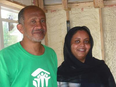 Amna Gayeli and Mohammed Elgaali family