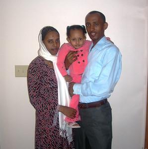 Biruk Deyibaso & ZemZem Feyso Family