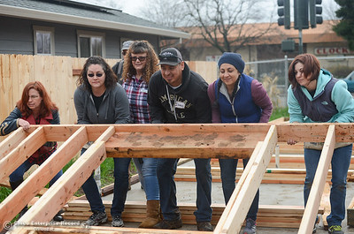 Habitat for Humanity Butte County Wall Raising Ceremony