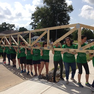 Young Adult Habitat Build July 17, 2016