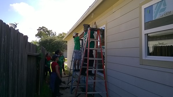 Young Adult Habitat Build September 17, 2016