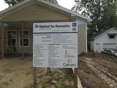 2016 Habitat build