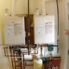 Long view of the floor water heating system.