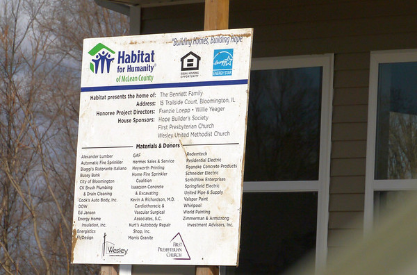 Habitat build in March 2014