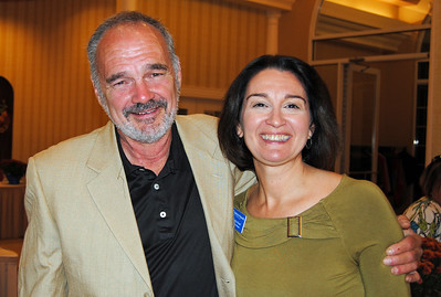 Land donor Jim Kelly and NCM Habitat for Humanity Executive Director Carolyn Read