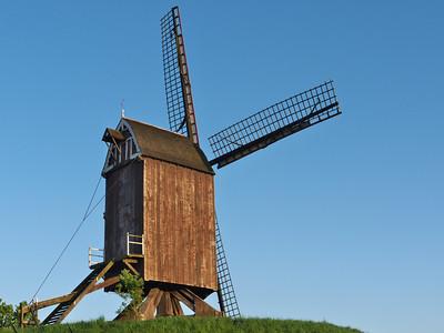 Bruxelles - Woluwé-St-Lambert - Moulin à vent, à l'Hof ter Musschen