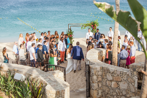 Hacienda Beach club wedding