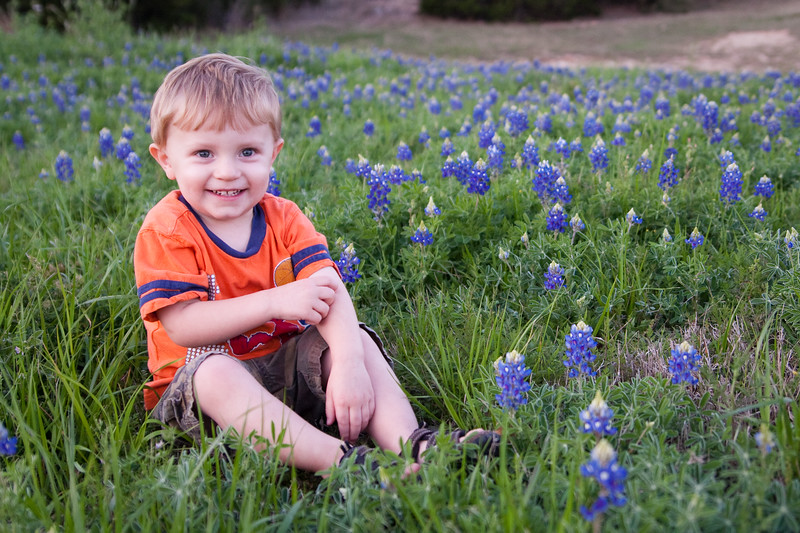 03 18 09 Jonah in Bluebonnets-9790