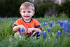 03 18 09 Jonah in Bluebonnets-9802