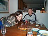 Lisa blowing out candles 12-12-00