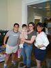 Molly, Emily, Lisa & Mom 04-29-01