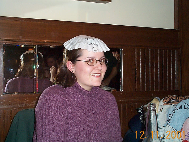 11 Lisa with gay hat