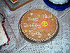 23 birthday cake