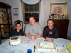 Birthday boys - Tony, Jeff & Dave 01-15-01