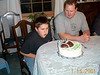 Tony blowing out candles 01-15-01