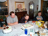 Dave blowing out candles 01-15-01