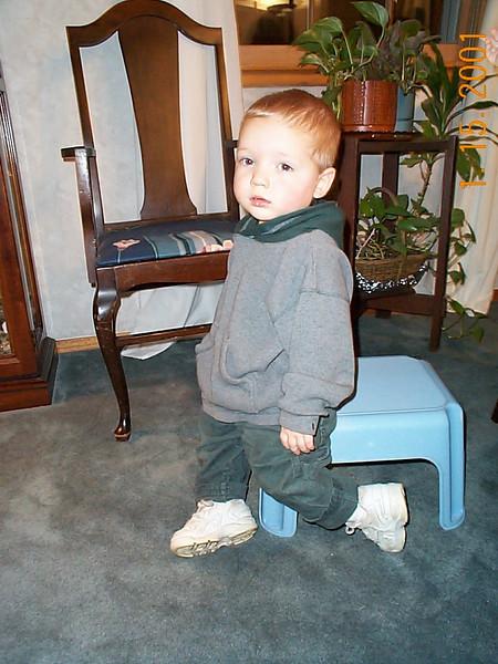 Jack on stool 01-15-01