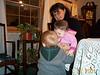 Emily hugging Jack 01-15-01