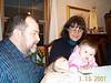 Mom, Dad & Emily 01 01-15-01