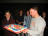 dave with cake