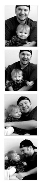 Photobooth 2007 12 15 Jonah & Daddy