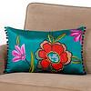 world market floral pillow 438918