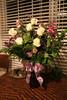 Flowers from Rachael, Allan, Jake & Zacky