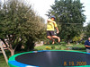 Molly on trampoline 08-19-00