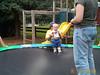 Jack on trampoline 08-19-00