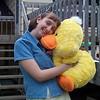 Sheridan with ducky 04-15-01 crop