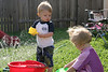 04 26 08 Jonah & Kat in the sprinkler (3)