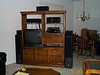 entertainment center together