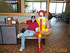 Lisa and Ronald McDonald