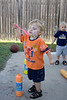 09 03 08 Jonah & Jackson with bubbles-4999