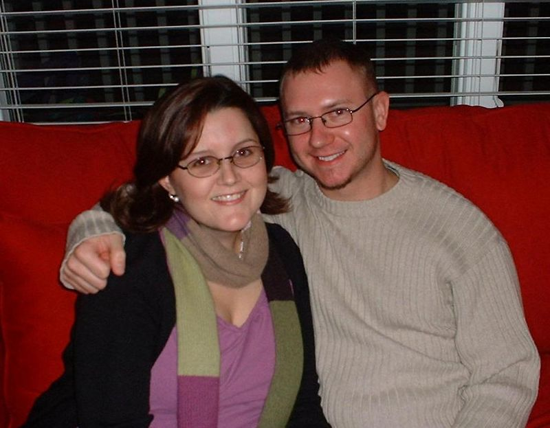 Me & Hubs - Christmas at Aunt Martha & Uncle Art's