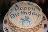 Jeff Daurer's birthday cake