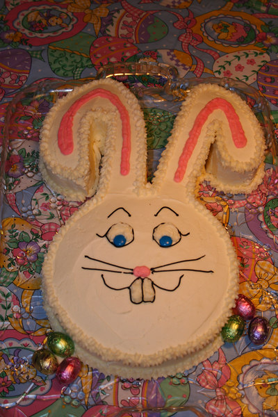 Easter Bunny Cake 2006