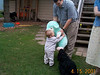 Jack hugging lamb 01 04-15-01