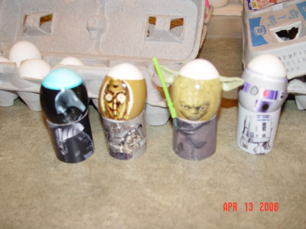 Star Wars Eggs!
