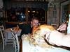 Dave behind the turkey