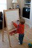 01 07 08 Jonah with Easel-9490
