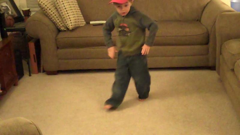 01 10 12 Jonah seriously dancing