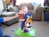 09 28 07 Jonah's 1st birthday zebra